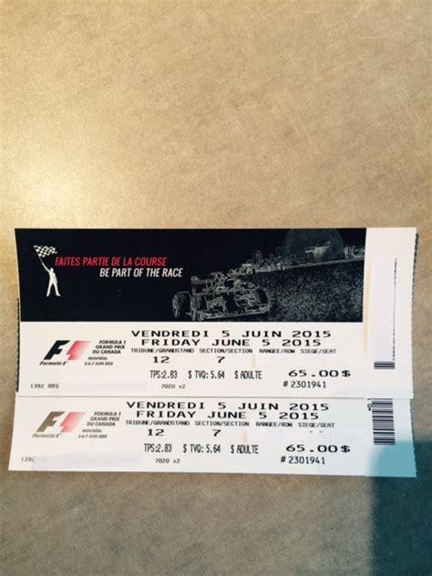 f1 tickets grand prix tickets formula 1 tickets fs billets grand prix f1 montreal canada tickets formula 1