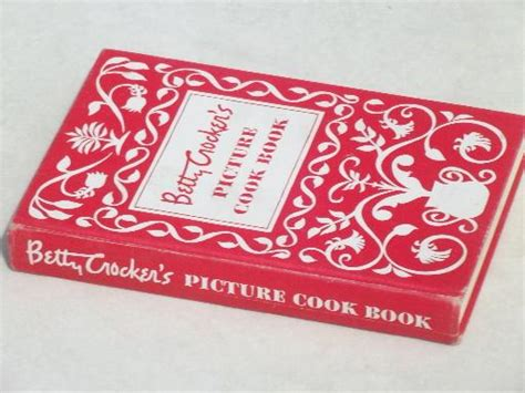 picture cook book betty crocker s picture cook book vintage 1950 betty