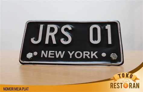 Nomor Meja nomor meja plat cutting sticker toko restoran
