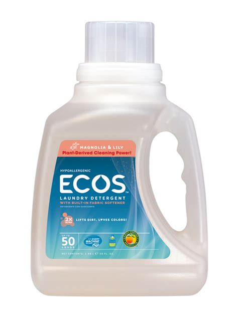 ecos hypoallergenic laundry detergent magnolia lily ecos com