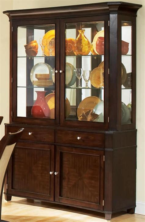 contemporary buffet and hutch china cabinet