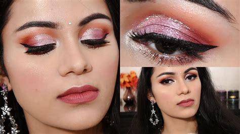 eyeliner tutorial in hindi indian wedding guest makeup tutorial in hindi easiest