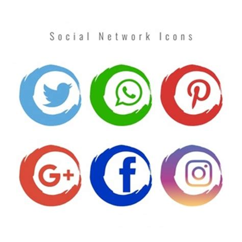 free sosial network icon social media icons vectors photos and psd files free