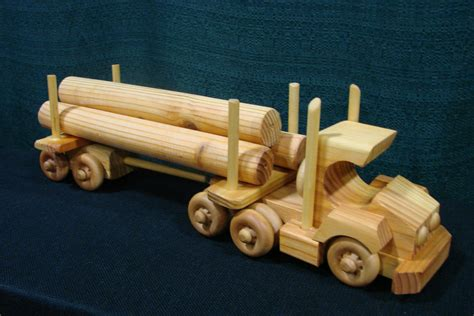 wooden truck toy semi trucks deals on 1001 blocks