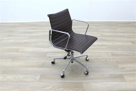 Office Chairs High Quality High Quality Charles Eames Ea117 Style Brown Leather