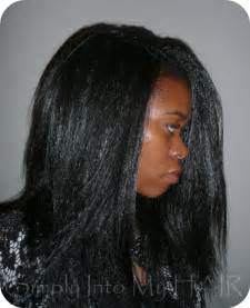 crochet braids install 5 long straight kanekalon