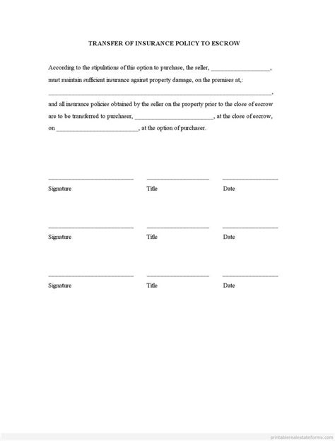 Insurance Name Transfer Letter Format 100 Ideas To Try About Sle Forms Pdf Real Estate Forms Template And Letter Form