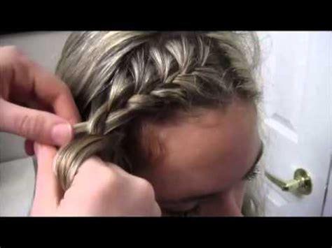 how to big french side braid youtube tutorial 6 the side french braid youtube