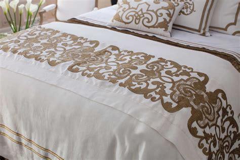 white throw pillows for bed lili alessandra mozart white linen straw velvet bed