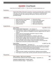 Sample Resume Police Officer best police officer resume example livecareer