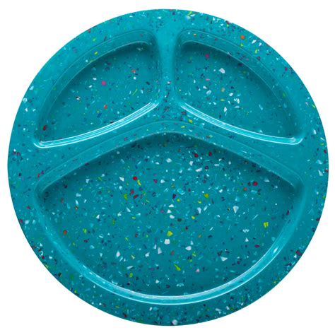 sectioned plates confetti divided dinner plate by zak designs