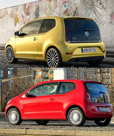 volkswagen up 2016 2016 vw up vs pre facelift model old vs new