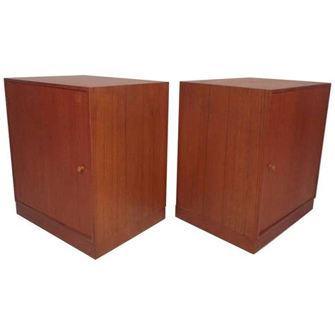 Mid Century Modern Nightstands For Sale by Mid Century Modern Teak Nightstands For Sale At 1stdibs