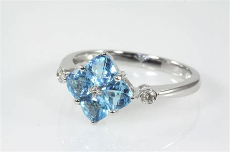 topaz and ring 1 41cts state auctions