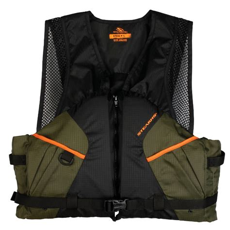 stearns comfort series life vest stearns 2200 comfort series adult life vest pfd green