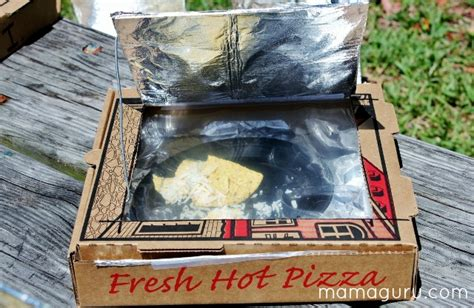How To Make A Pizza Box Out Of Paper - steps in solar oven
