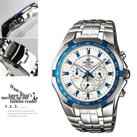 Jam Tangan Casio Edifice Ef 540d jual jam tangan casio edifice ef 540d 7a2 original di