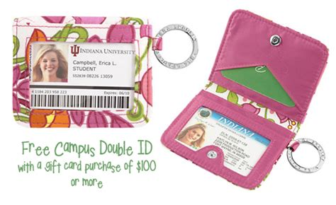 Vera Bradley Gift Card - vera bradley free cus double id with gift card purchase shesaved 174