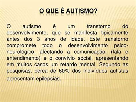 o que ã o que 233 autismo