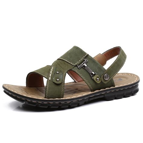 mens summer sandals top quality summer mens sandals genuine leather ltaly rome