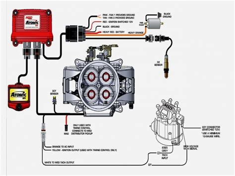 mopar hei wiring diagram hei conversion wire new accel