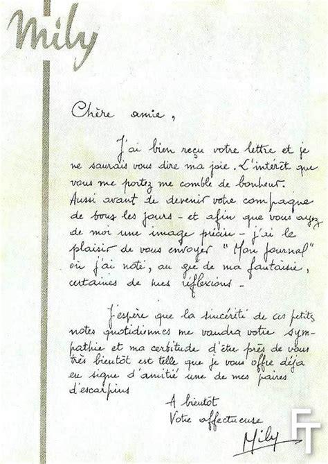 Exemple De Lettre Manuscrite Modele Lettre Manuscrite