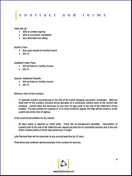 Template For Large Company Employee Insurance Proposals Printable Sle Business Template Form Forms