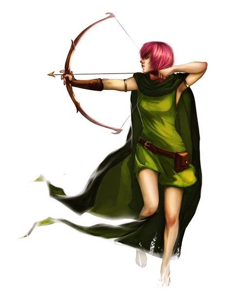 Figure Clans Of Clash Archer Acher clash of clans archer by newsha ghasemi on deviantart