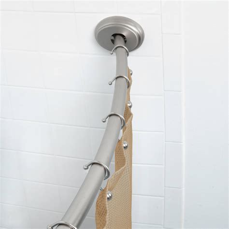 double shower curtain rod tension better homes and gardens double curved tension shower