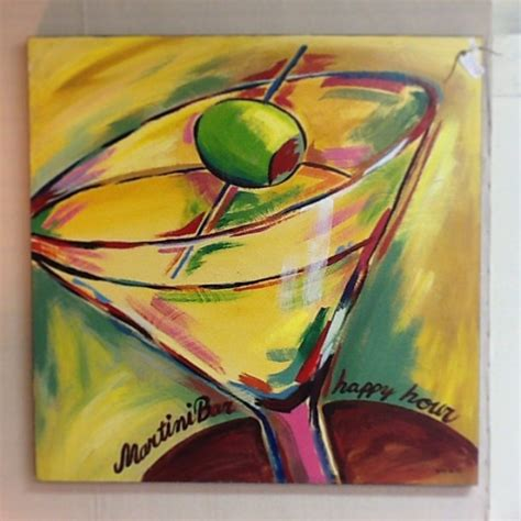martini glass acrylic painting 3245 best images about on abstract