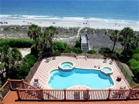 oceanfront houses for rent in myrtle ibis resort house rental oceanfront myrtle home