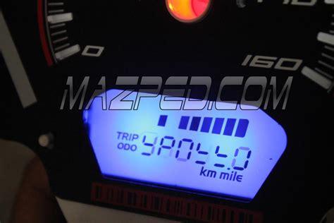 Alarm Motor Nvl indikator gear dan angka 6 pada spido nvl mazpedia