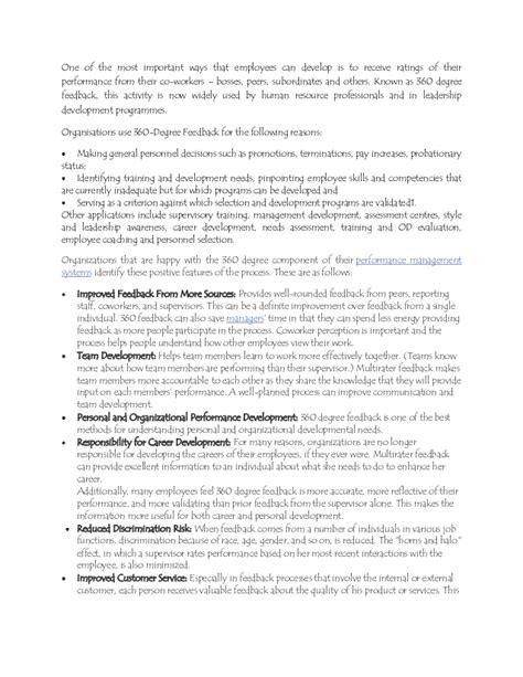 360 peer review template 360 degree feedback