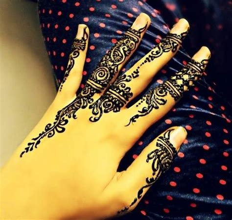 simple eid mehndi designs 2014 for hands images pakistani