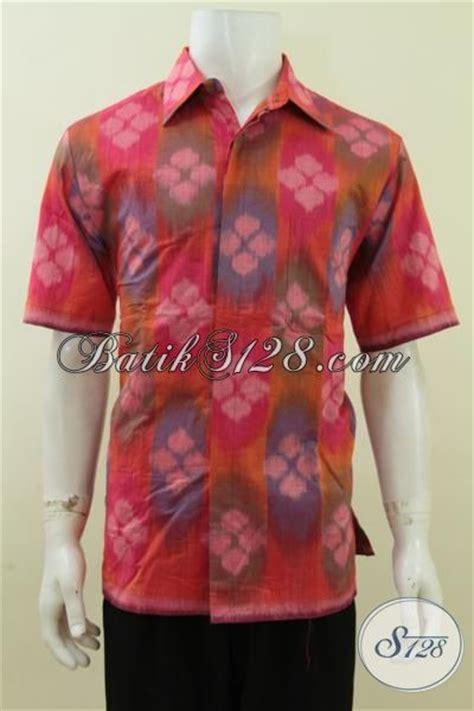 Kain Tenun Batik Troso Blanket Premium Halus pakaian kerja lengan pendek bahan tenun halus busana