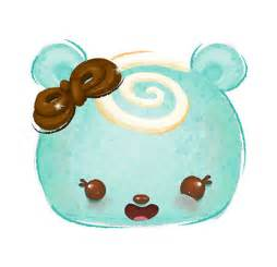 Minty swirl character num noms