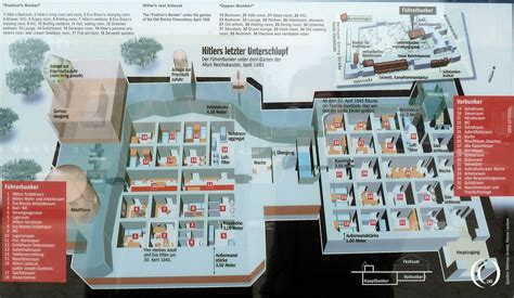 Reich Chancellery Floor Plan by The F 252 Hrerbunker Under The Reich S Chancellery