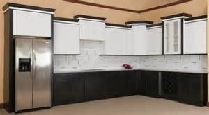 Kitchen Cabinets Assembly Required by Brilliant White Shaker Ready To Assemble Kitchen
