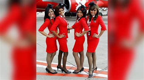 airasia uniform airasia sexy uniforms arouse debate in malaysian