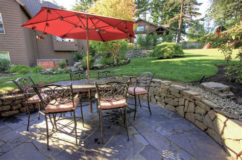 houzz backyard patio portland landscaping outdoor living