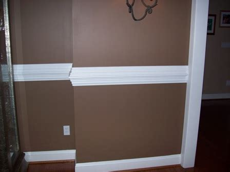 wall chair rail chair rail unique custom mouldings trim