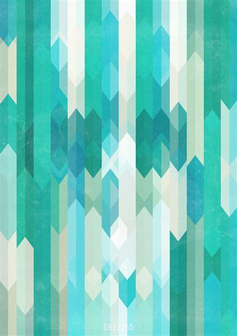 pattern aqua blue a geometric sea 171 plenty of colour
