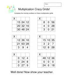 grid method multiplication htu x u multiplication grid