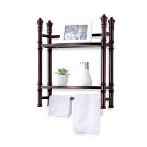Bathroom Wall Shelf Bronze by Buy Wall Shelf Storage From Bed Bath Beyond