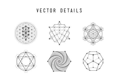 vector geometry tutorial skybox creative 187 sacred geometry vector set vol 5