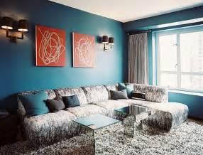Decorating in blue hues furnish burnish