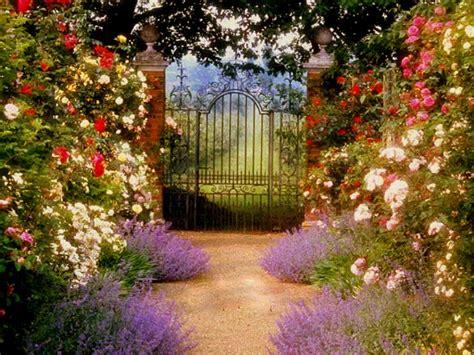 Gardening: House Garden Gate Wallpaper HD Wallpaper
