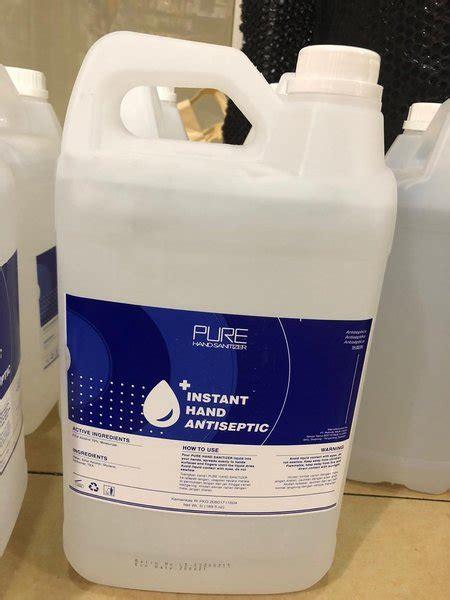 aseptic gel onemed pure  liter hand sanitizer antiseptic  lapak palemstore bukalapak
