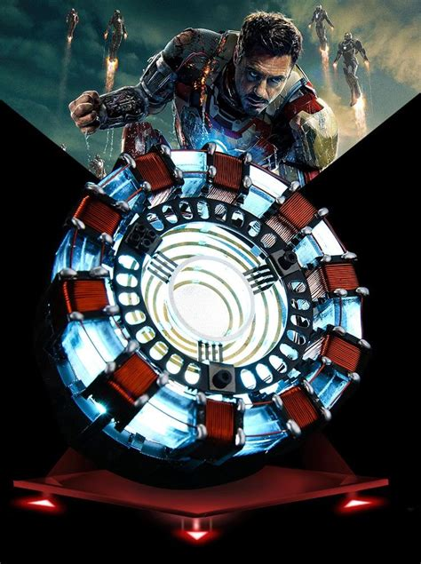 iron man arc reactor led