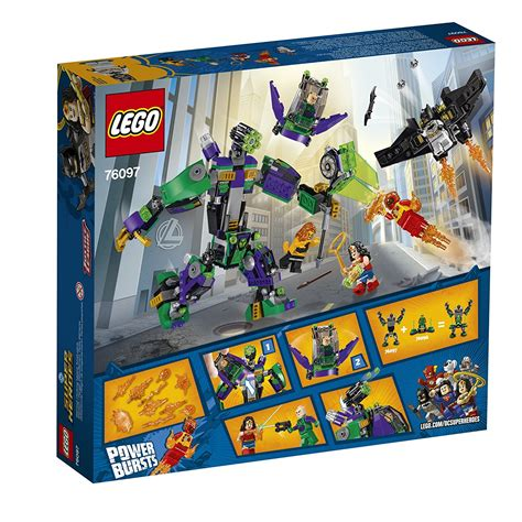 libro lego dc super heroes lego dc super heroes 76097 lex luthor mech takedown ebay